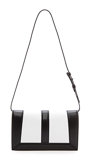 CoSTUME NATIONAL Mirrored Leather Bag