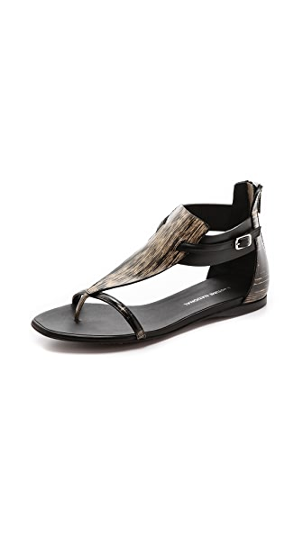 CoSTUME NATIONAL Leather Sandals