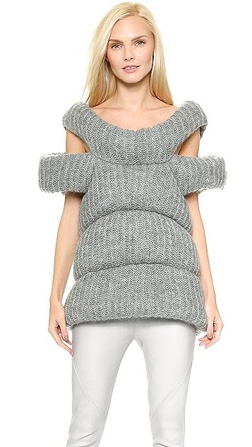 CoSTUME NATIONAL Wool Vest