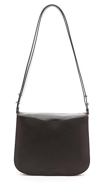 CoSTUME NATIONAL Leather Shoulder Bag