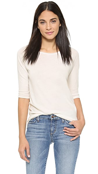 Cotton Citizen The Raw Edge Raglan Shirt