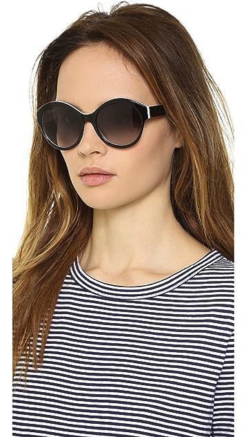 Courreges Two Tone Sunglasses