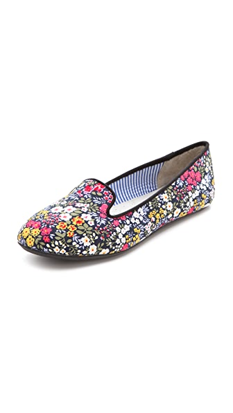 Charles Philip Floral Print Flats