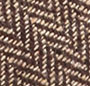 Brown Herringbone