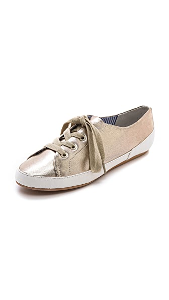 Charles Philip Bianca Metallic Sneakers