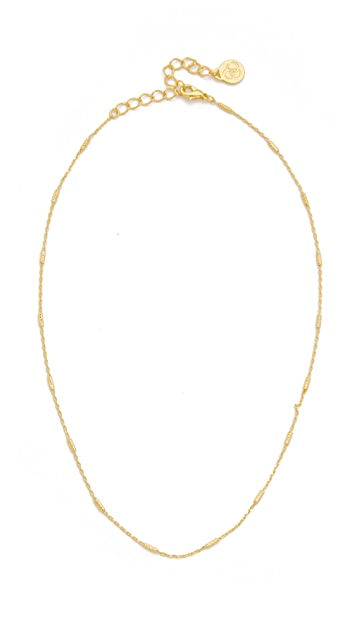 Cloverpost Nugget Choker Necklace