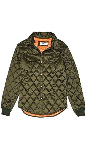 Creep MA1 Type Quilted Down Shirt