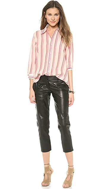 Crippen Leather Trousers