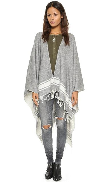 Crippen Reversible Blanket Poncho