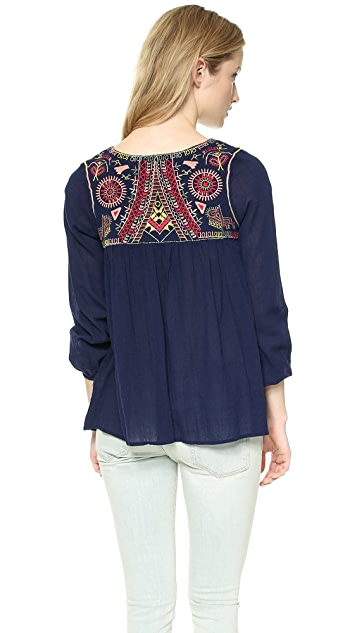 Christophe Sauvat Collection Malibu Cover Up Top