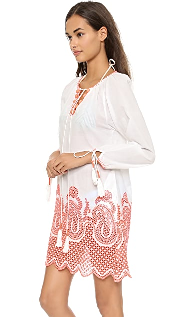 Christophe Sauvat Collection Paisley Tunic