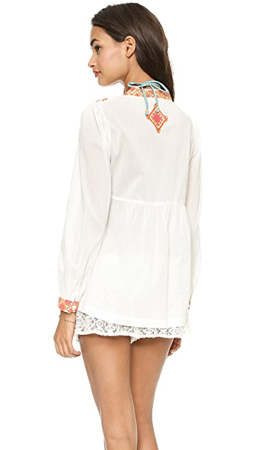Christophe Sauvat Collection Loreley Cover Up Top
