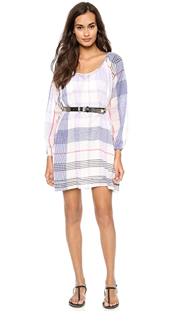 Christophe Sauvat Collection Check Cali Dress