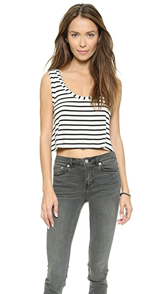 CSBLA Rimini Stripe Crop Top