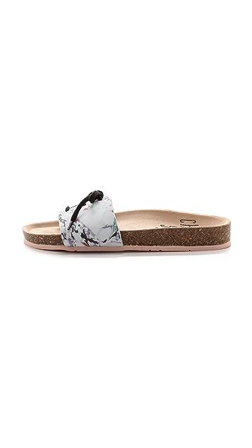 Charlotte Stone Barton Single Band Sandals