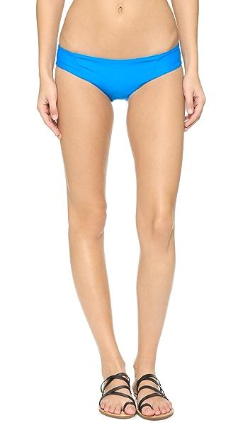 Citrine Swim Saluda Bikini Bottoms - Sapphire at Shopbop