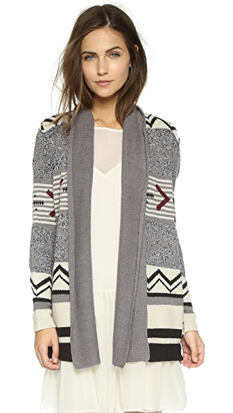 Cupcakes And Cashmere Sequoia Sweater - Heather Grey