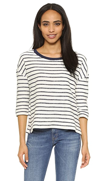 Cupcakes And Cashmere Iko Stripe Pullover - Striped