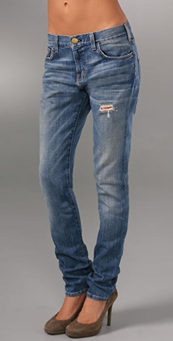 Current/Elliott Super Slouchy Skinny Jeans