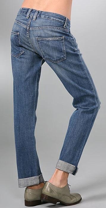 Current/Elliott The Long Boyfriend Jeans