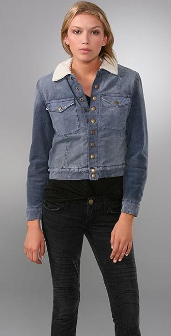 Current/Elliott The Shearling Jacket