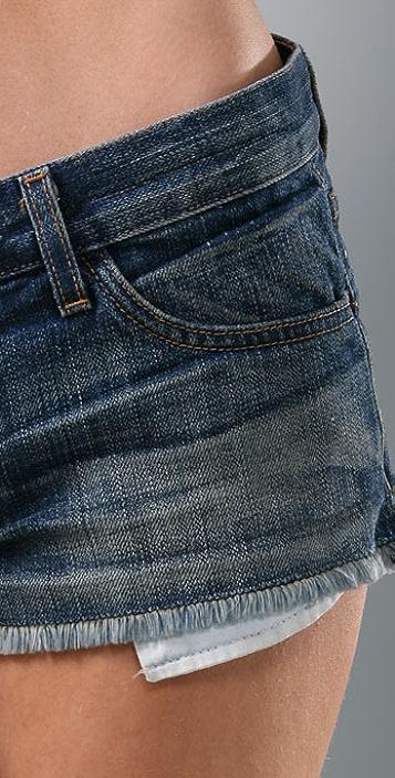Current/Elliott The Mini Mini Shorts