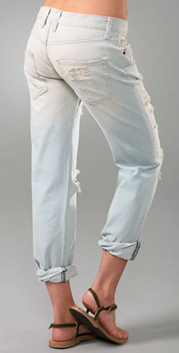 Current/Elliott The Long Boyfriend Jeans