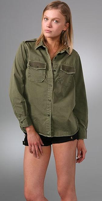 Current/Elliott The Perfect Studded Shirt