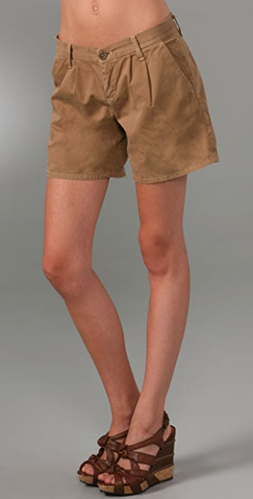 Current/Elliott The Trouser Roll Shorts