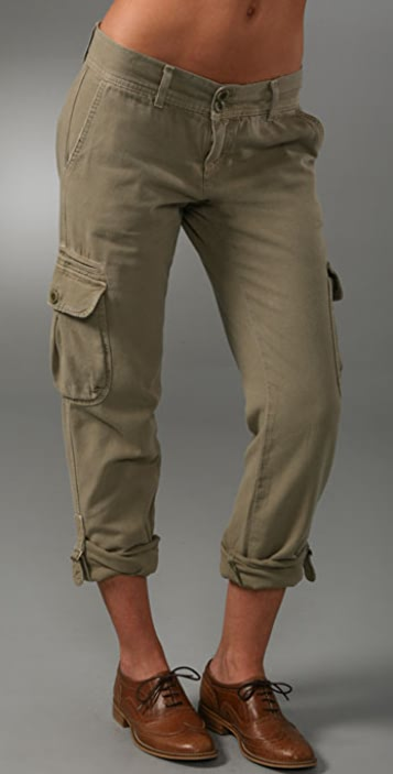 Current/Elliott The Slouchy Skinny Cargo Pants