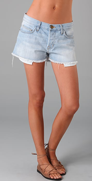 Current/Elliott The Button Fly Boyfriend Shorts