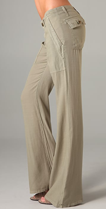 Current/Elliott The Wide Leg Army Pants