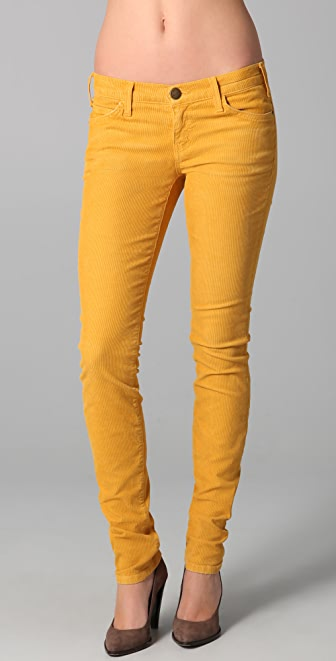 Current/Elliott The Skinny Corduroy Pants | SHOPBOP
