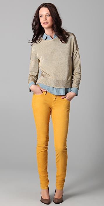 Current/Elliott The Skinny Corduroy Pants