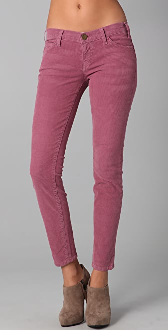 Current/Elliott The Ankle Corduroy Skinny Pants | SHOPBOP