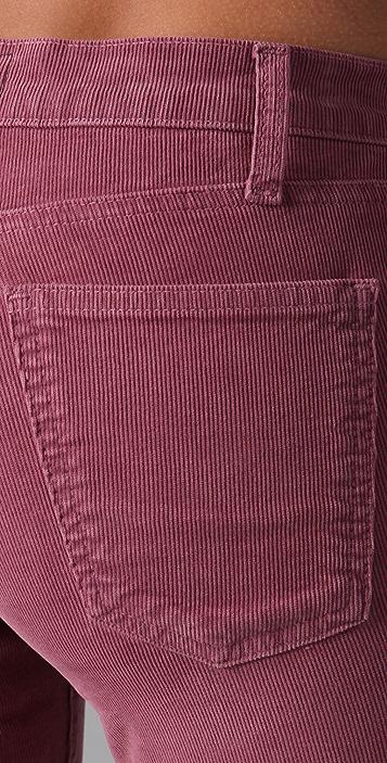 Current/Elliott The Ankle Corduroy Skinny Pants
