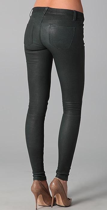 Current/Elliott The Leather Skinny Pants