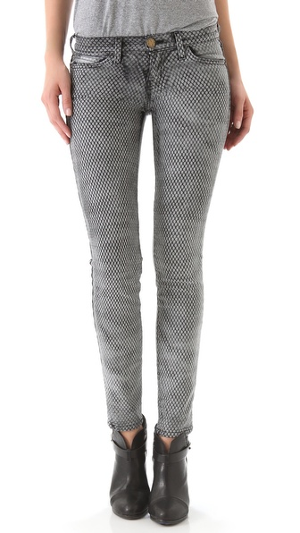 Current/Elliott Ankle Skinny Jeans