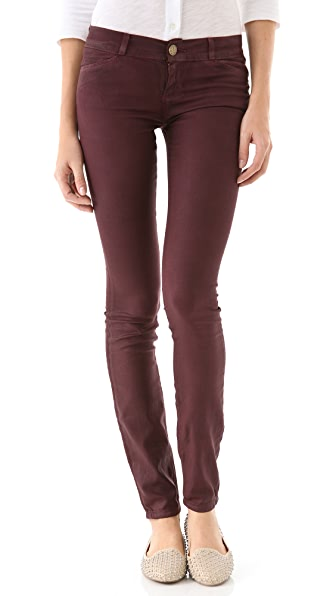 Current/Elliott The Coated Jean Leggings