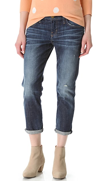 Current/Elliott The Cropped Roller Jeans