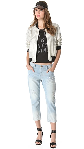 Current/Elliott The Carpenter Cropped Jeans