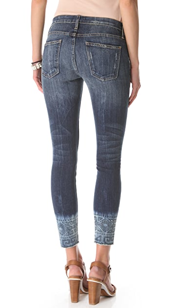 Current/Elliott The Cutoff Stiletto Jeans