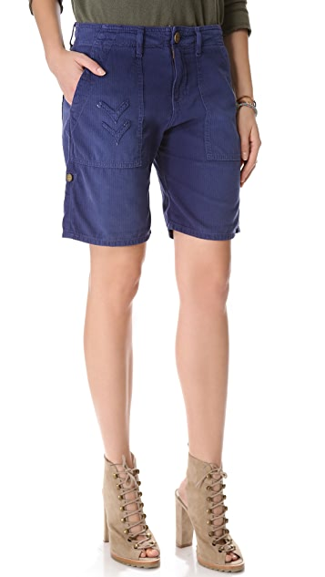 Current/Elliott The Army Bermuda Shorts