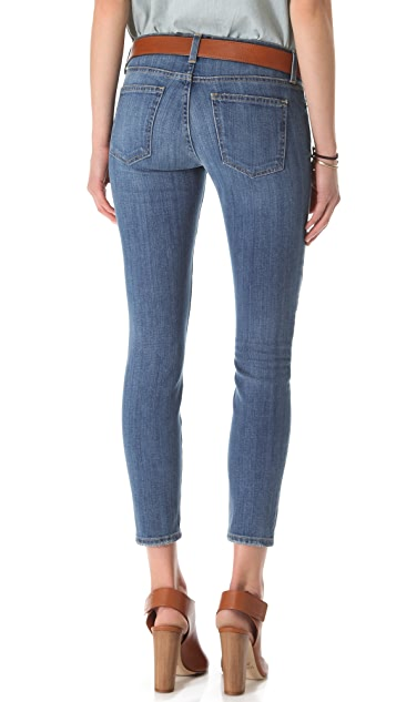 Current/Elliott Stiletto Patchwork Jeans