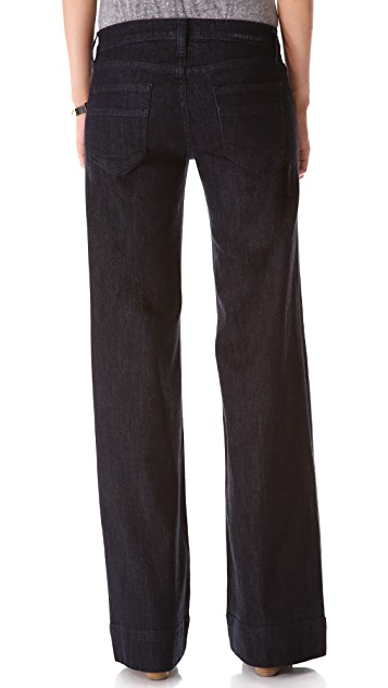 Current/Elliott The Wide Leg Jeans