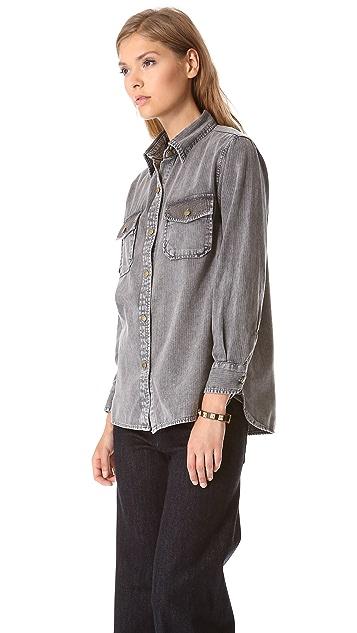 Current/Elliott The Perfect Shirt with Mini Studs