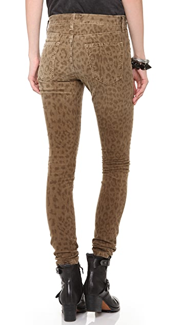 Current/Elliott The Ankle Skinny Corduroy Pants