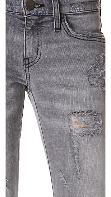 Current/Elliott The Shredded Stiletto Jeans