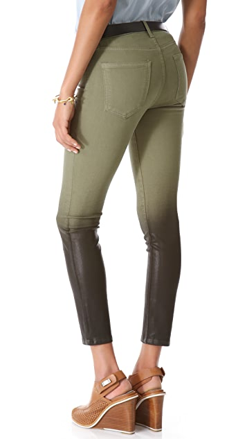 Current/Elliott The Coated Stiletto Jeans