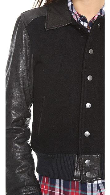 Current/Elliott The Varsity Jacket
